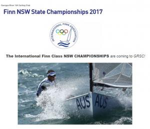 Finn NSW State Championships 2017 08:30am Saturday, 4th November 2017